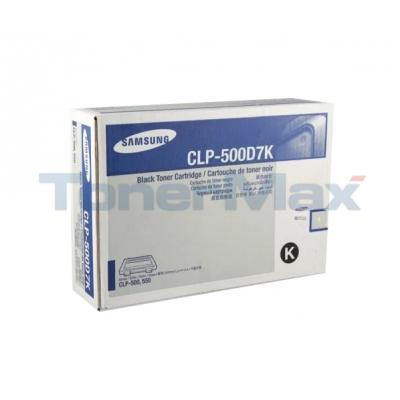 SAMSUNG CLP 500 550N TONER CARTRIDGE BLACK